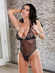 Dylan Ryder teases in a see through peekaboo
